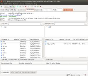 Figure 1.1 FileZilla Client