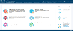 Cloud Orchestrator Home